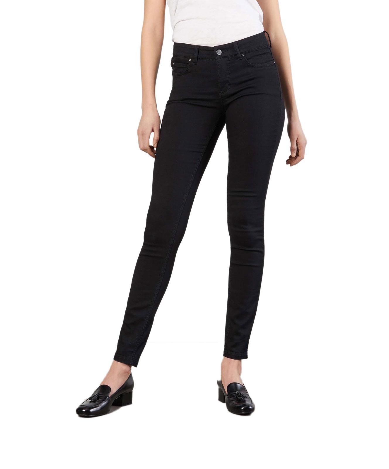 Hosen - MAC Jeans Röhre Dream Skinny in Black Black  - Onlineshop Jeans Meile