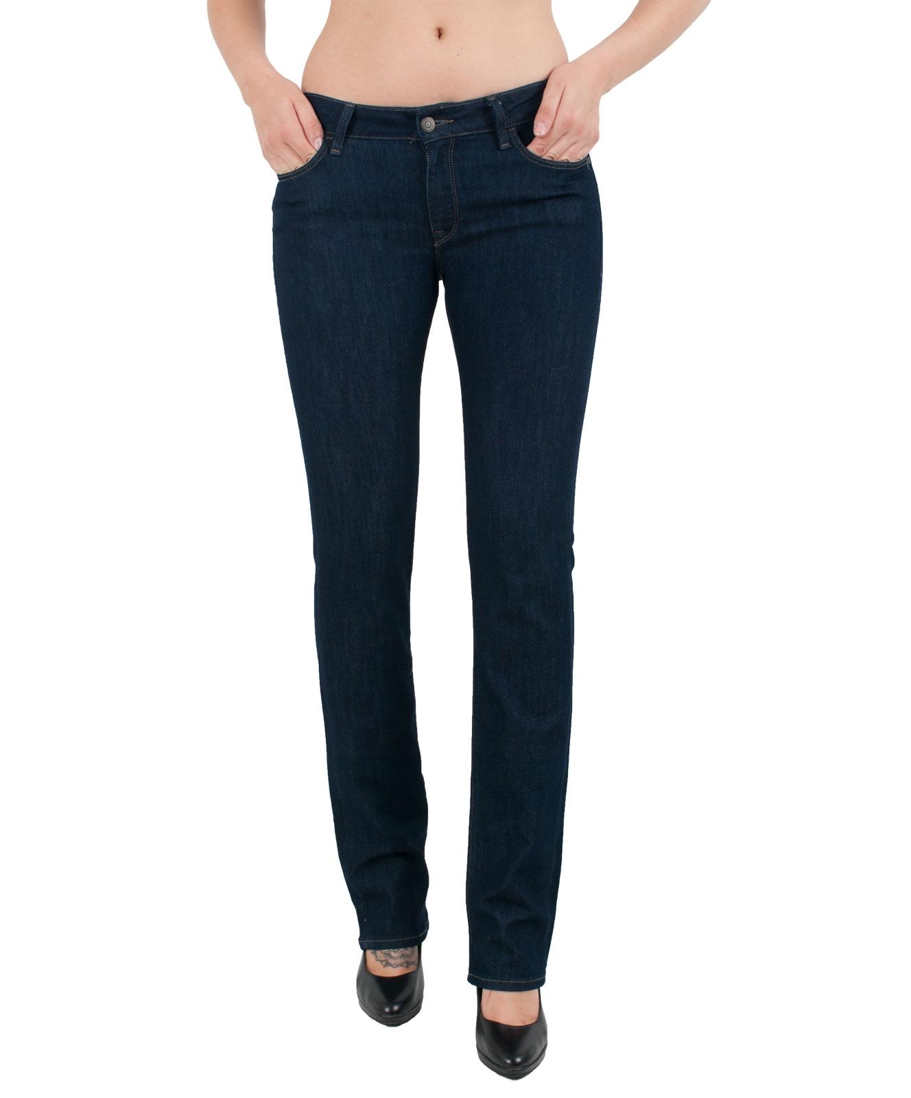 Hosen für Frauen - MAVI Jeans OLIVIA Straight Leg Rinse Sunset Stretch  - Onlineshop Jeans Meile