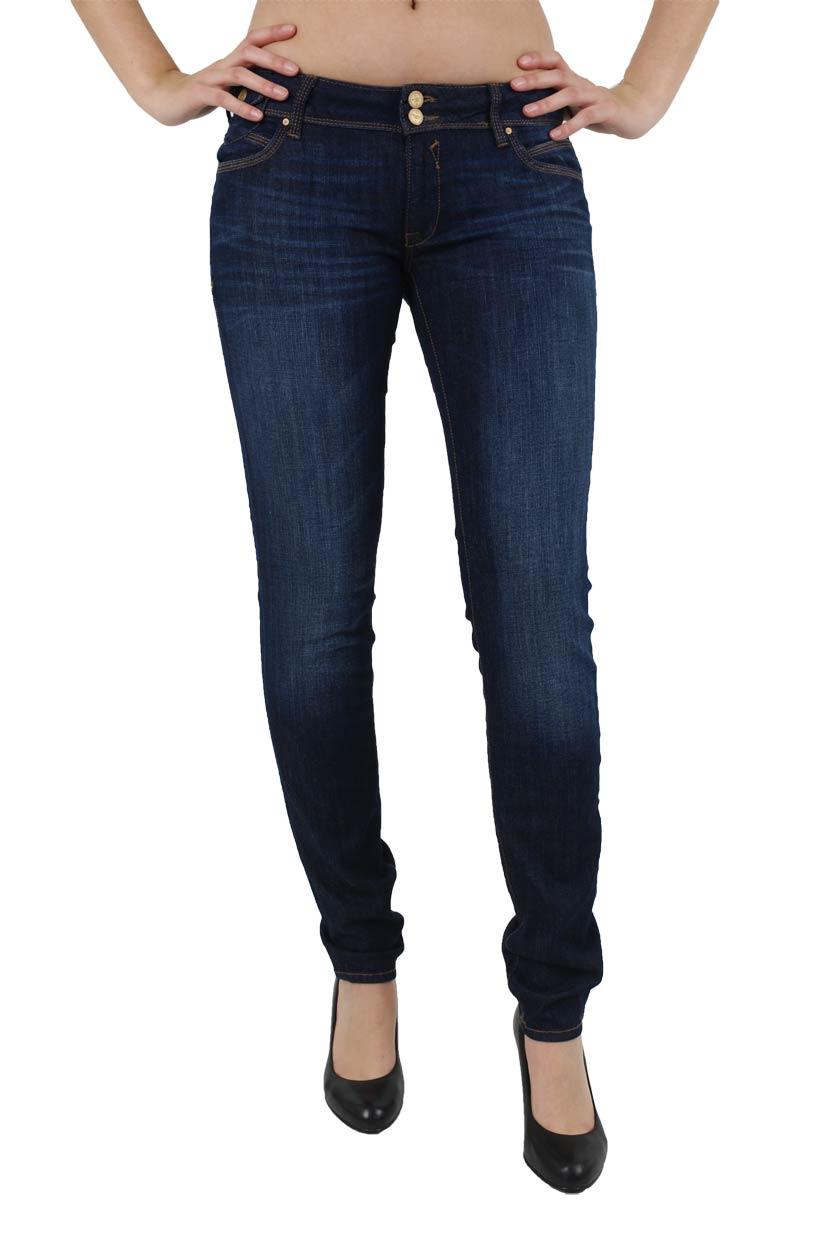 Hosen für Frauen - Mavi Lindy Jeans Skinny Leg Deep Rock  - Onlineshop Jeans Meile