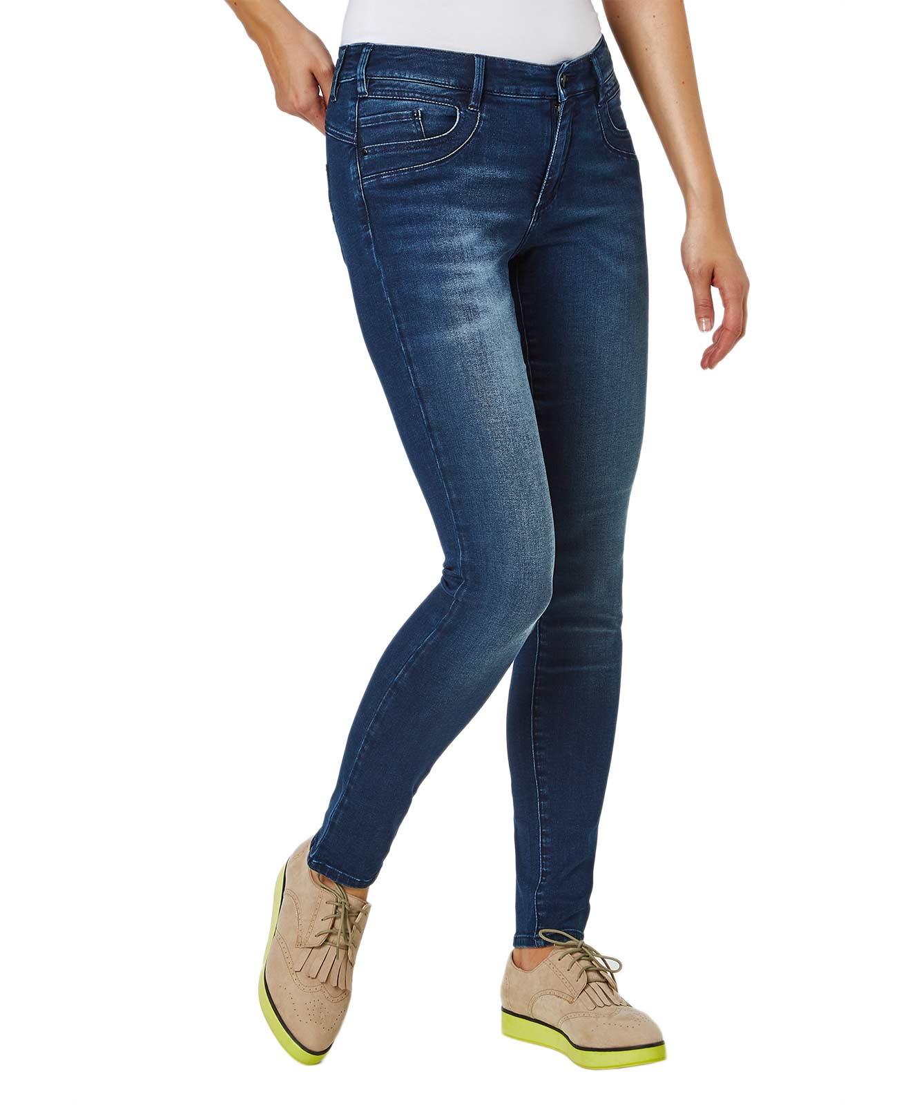 Hosen - Paddocks Jeans Röhre Lucy in Blue Black Stone  - Onlineshop Jeans Meile