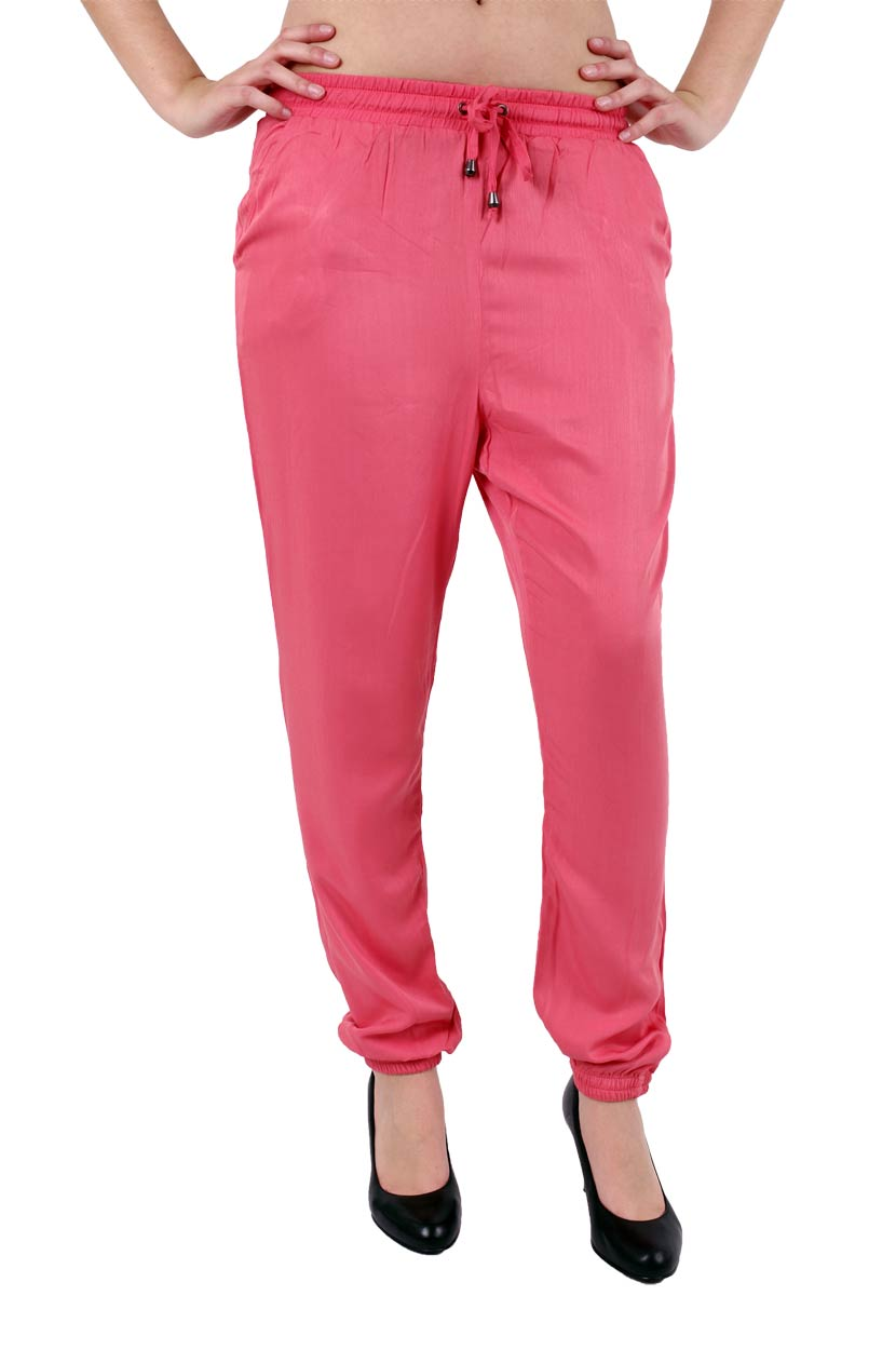 Hosen - Vero Moda Stoffhose Another Friday in Spiced Coral  - Onlineshop Jeans Meile