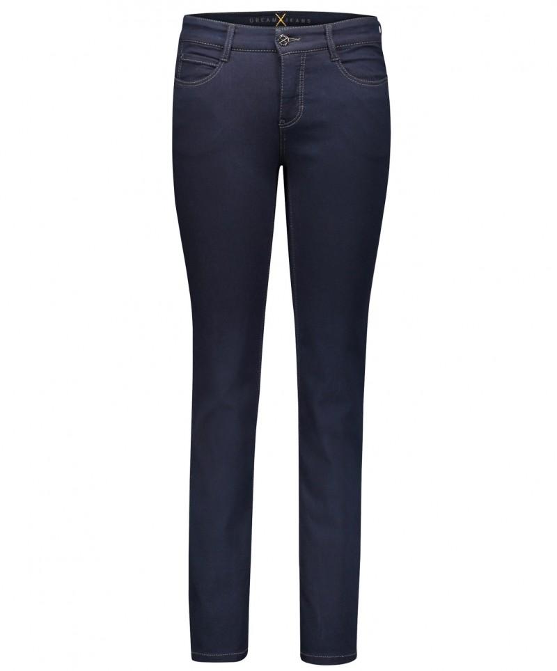 MAC DREAM - Jeans Straight Leg - dark rinsewash