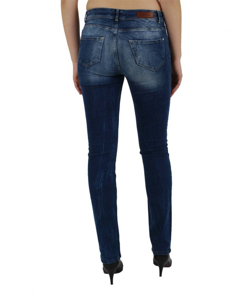 Vero Moda Flashy - Slim Fit Jeans - Medium Blue Denim