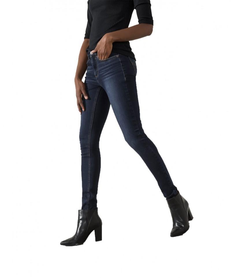 HIS LORRAINE - Super Skinny Jeans - Advanced Dark Blue Wash