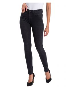 Cross Jeans Natalia - High Waisted Skinny Jeans in dunkelgrau - B01
