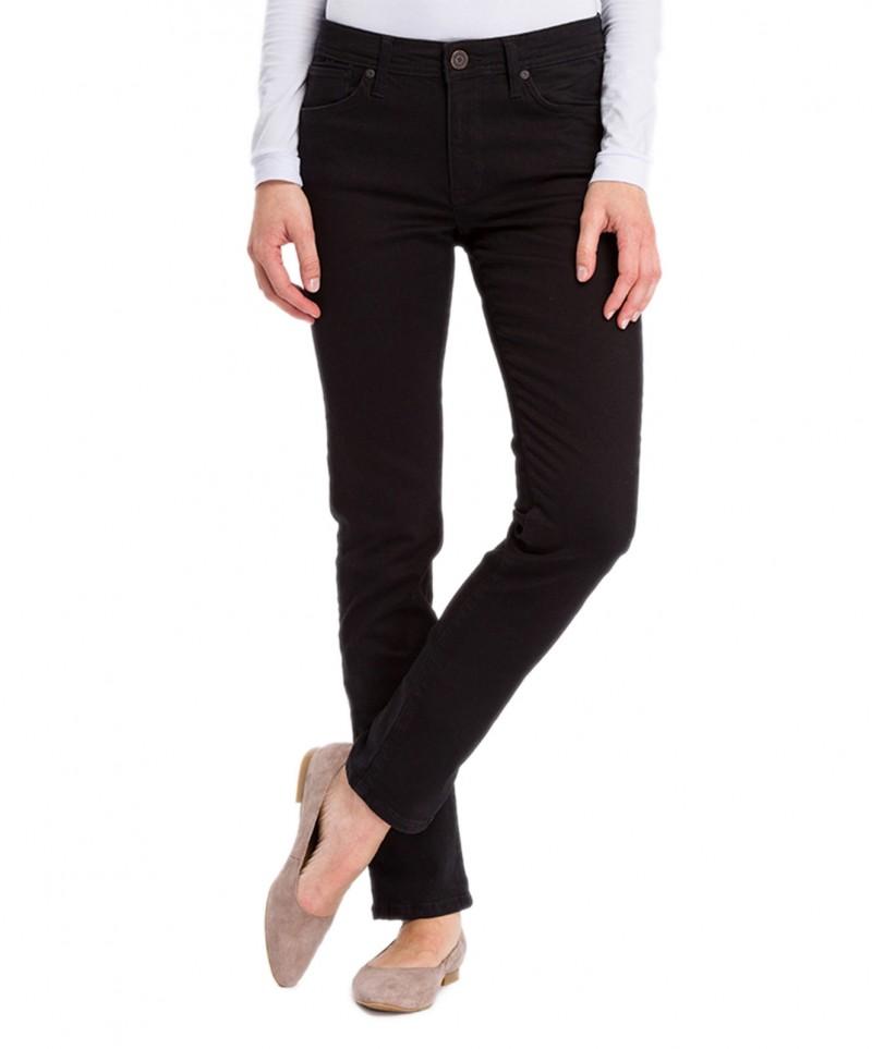 Cross Anya - Schwarze Jeans mit schmalem Beinverlauf