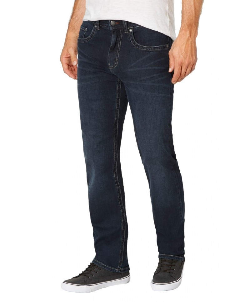 Paddocks Carter Jeans - Blue Black Used Moustache v