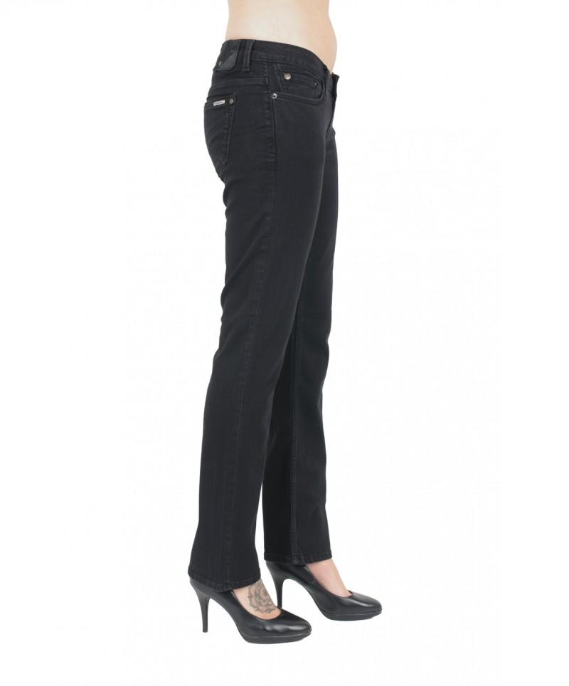 GARCIA Jeans CELIA - Super Slim Leg - High Waist - Schwarz