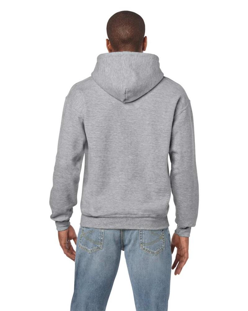 Gildan Kapuzensweatshirt - Sport Grey