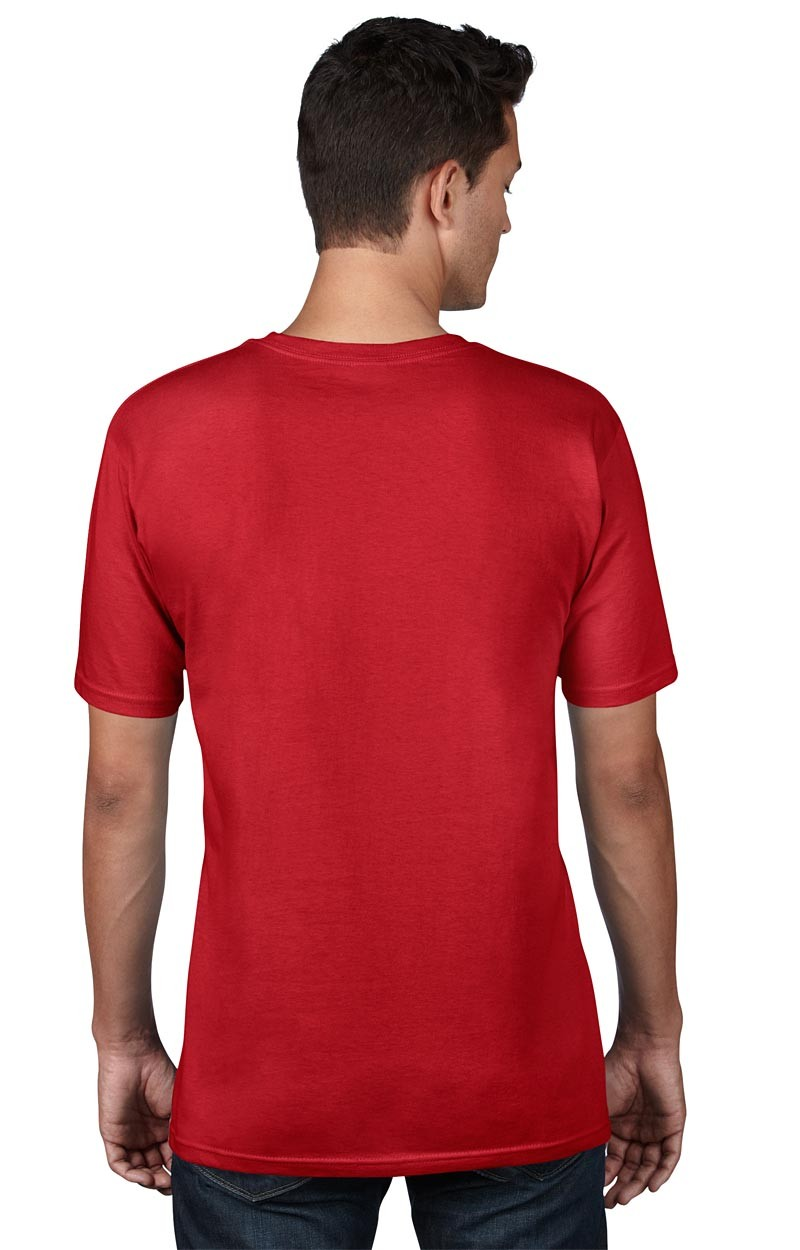 Anvil T-Shirt - AnvilOrganic™ Tee - Red