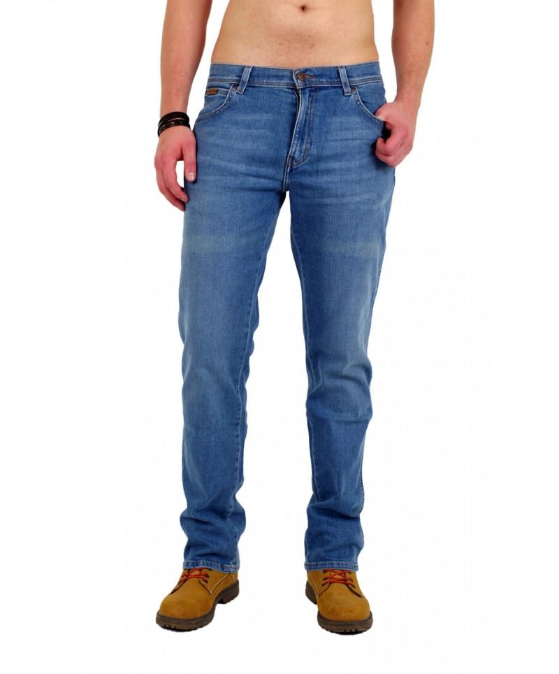 Wrangler Texas Jeans - Stretch Denim - Fly Cast