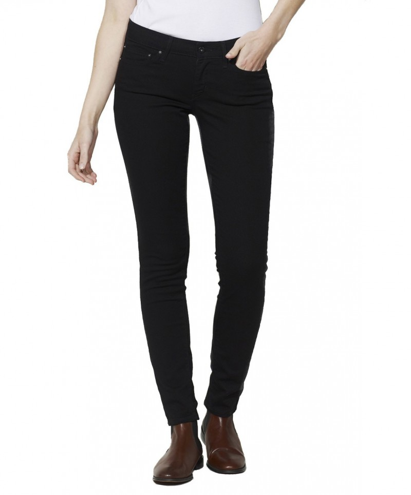 Levis Demi Curve Skinny Pitch Black