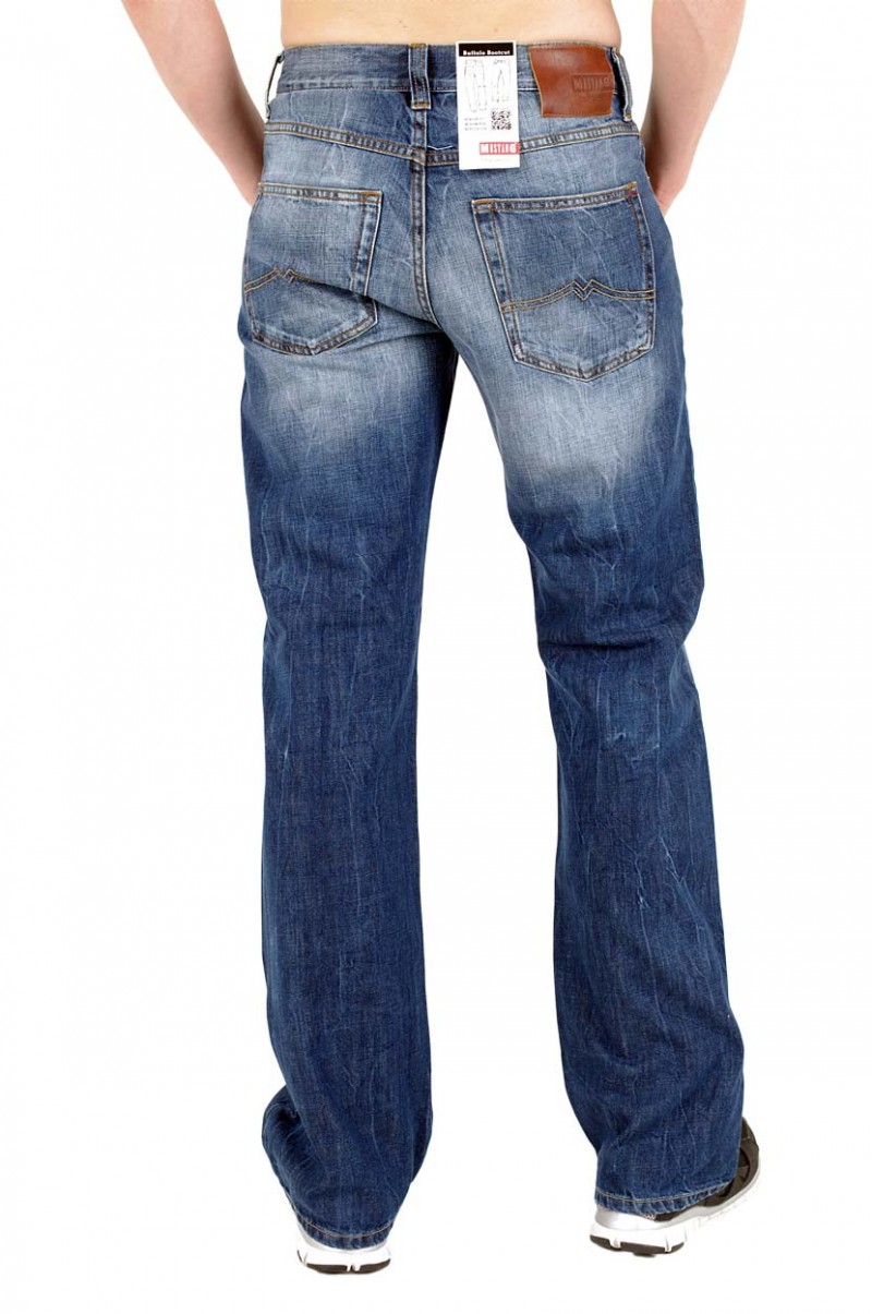 Mustang Buffalo - Bootcut Jeans - Strong Bleach