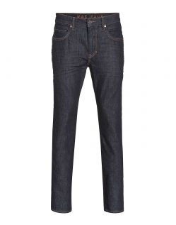 MAC ARNE PIPE - Slubby Denim - Dark Authentic Wash