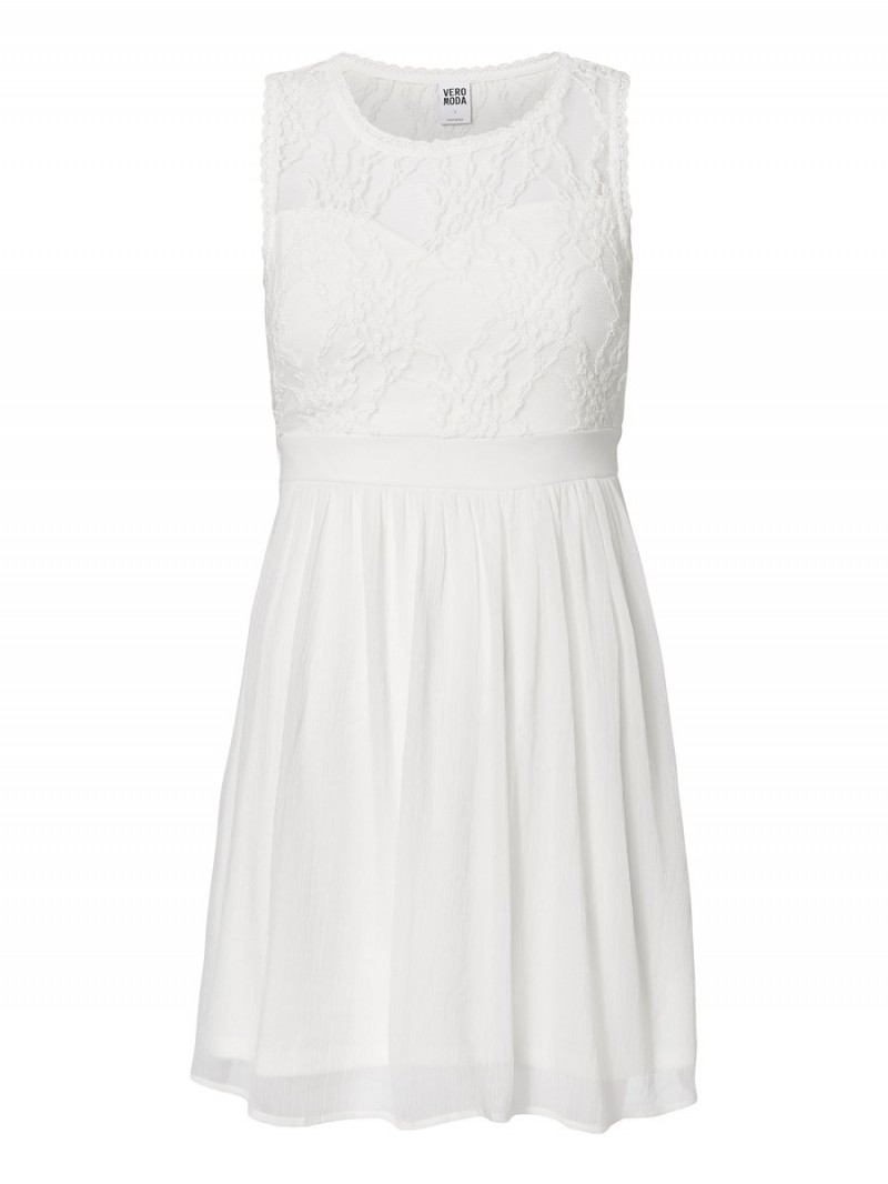 Vero Moda Kleid - Neja s/l mini - Snow White