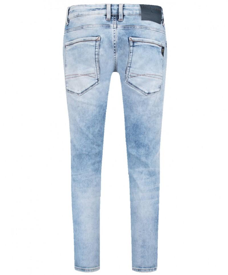 Garcia Russo - Hellblaue Jeans im Tapered Fit