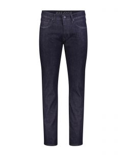 Mac Arne Pipe - enge Jeans aus Raw Denim in Dunkelblau