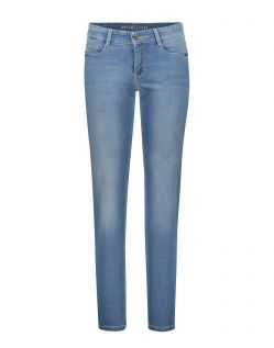 MAC DREAM Jeans - Straight Leg - Light Blue Used