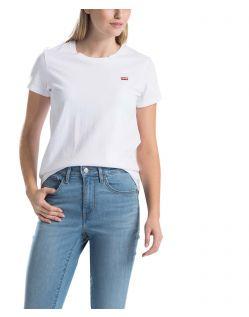 Levi's T-Shirt in Weiß mit kleinem Logo-Print