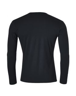Gin Tonic Basic Longsleeve - Tight Fit - black h