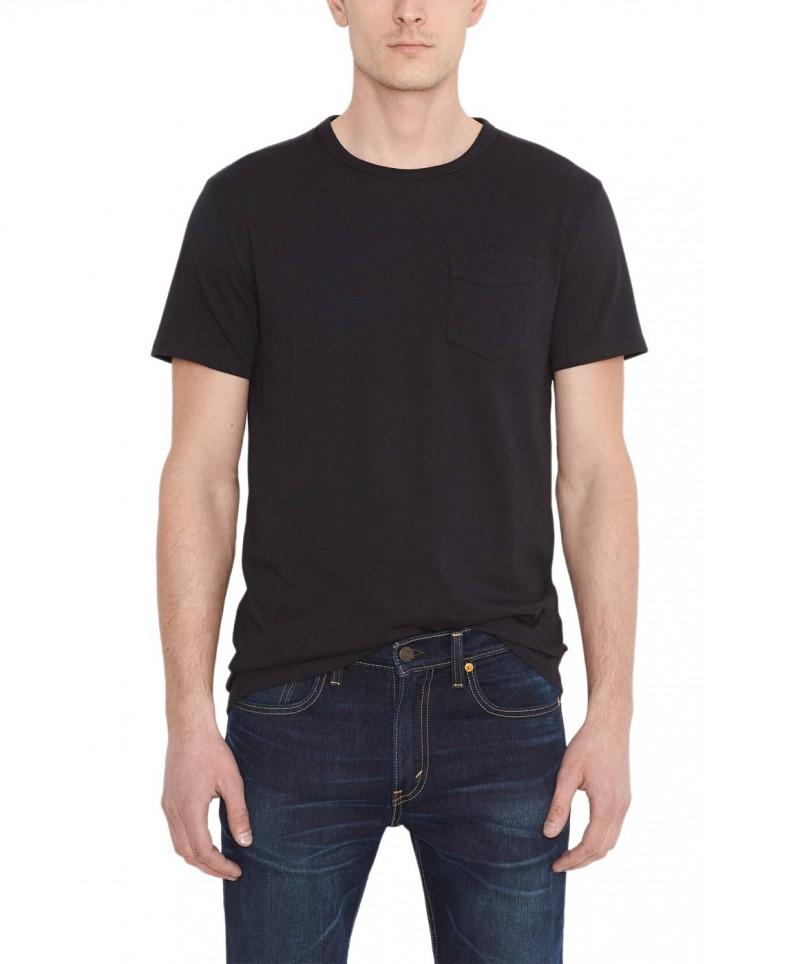 Levis T-Shirt - Sunset Pocket Tee - Schwarz