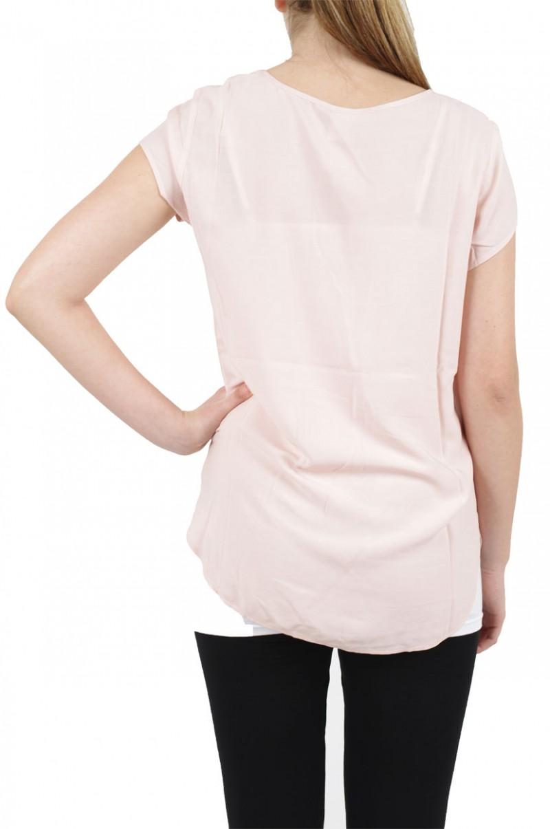 Vero Moda BOCA SS Top - Bluse - Peach Whip v