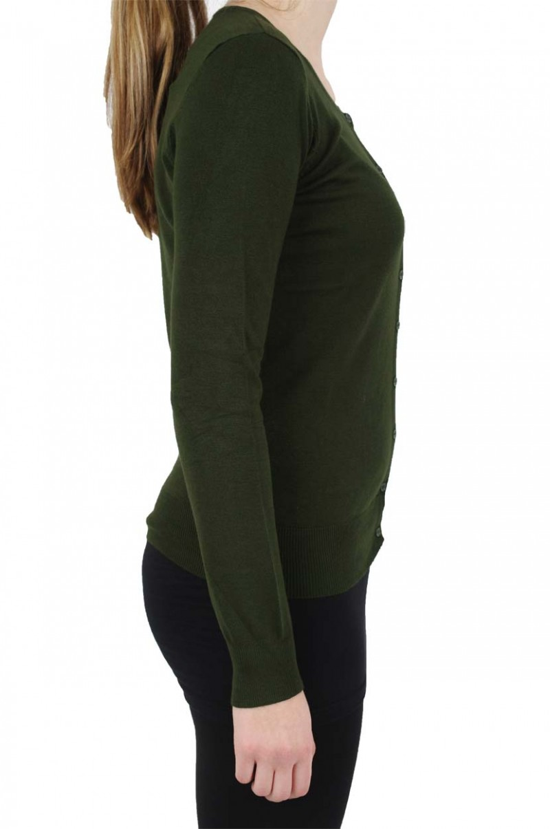 Vero Moda - Glory Strickjacke - Kombu Green