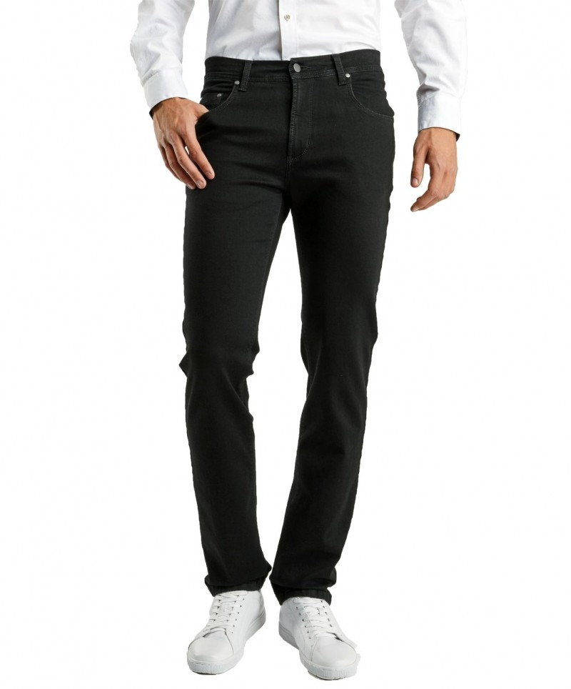 Pioneer Jeans Rando - Regular Fit - Megaflex Stretch - Schwarz