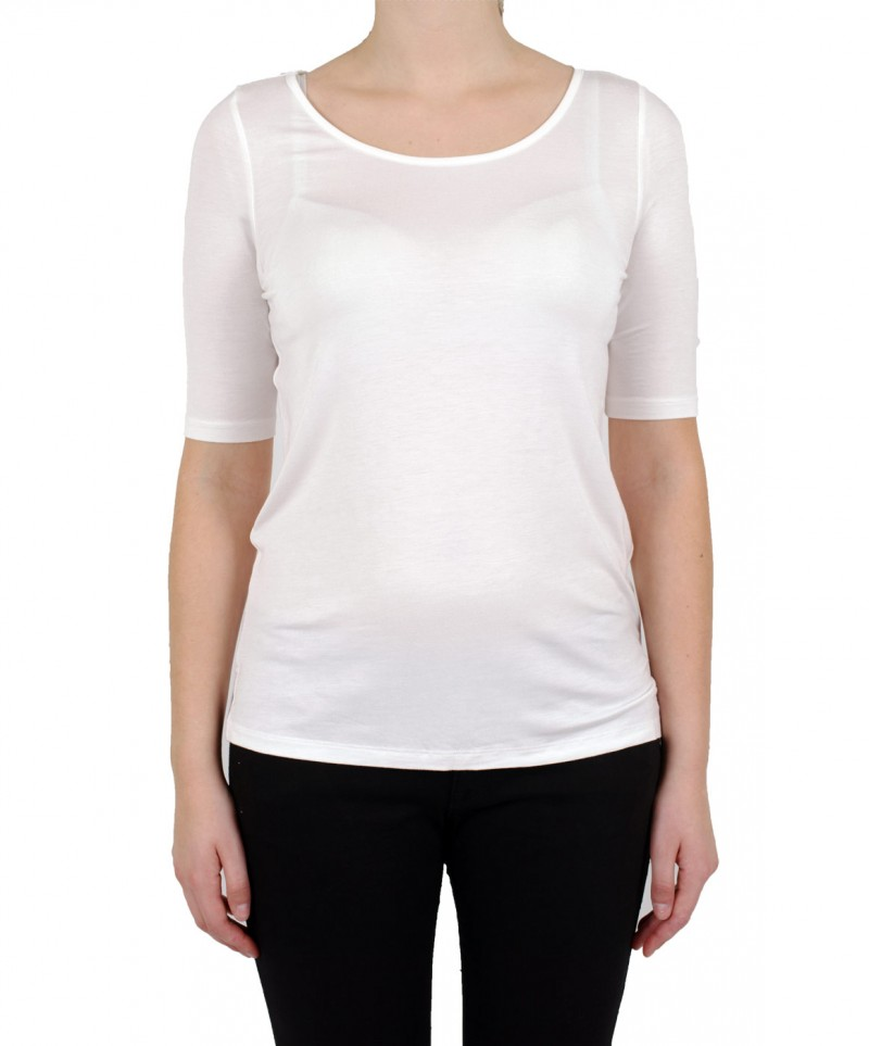 VERO MODA - DOLLAR T-Shirt - Weiss