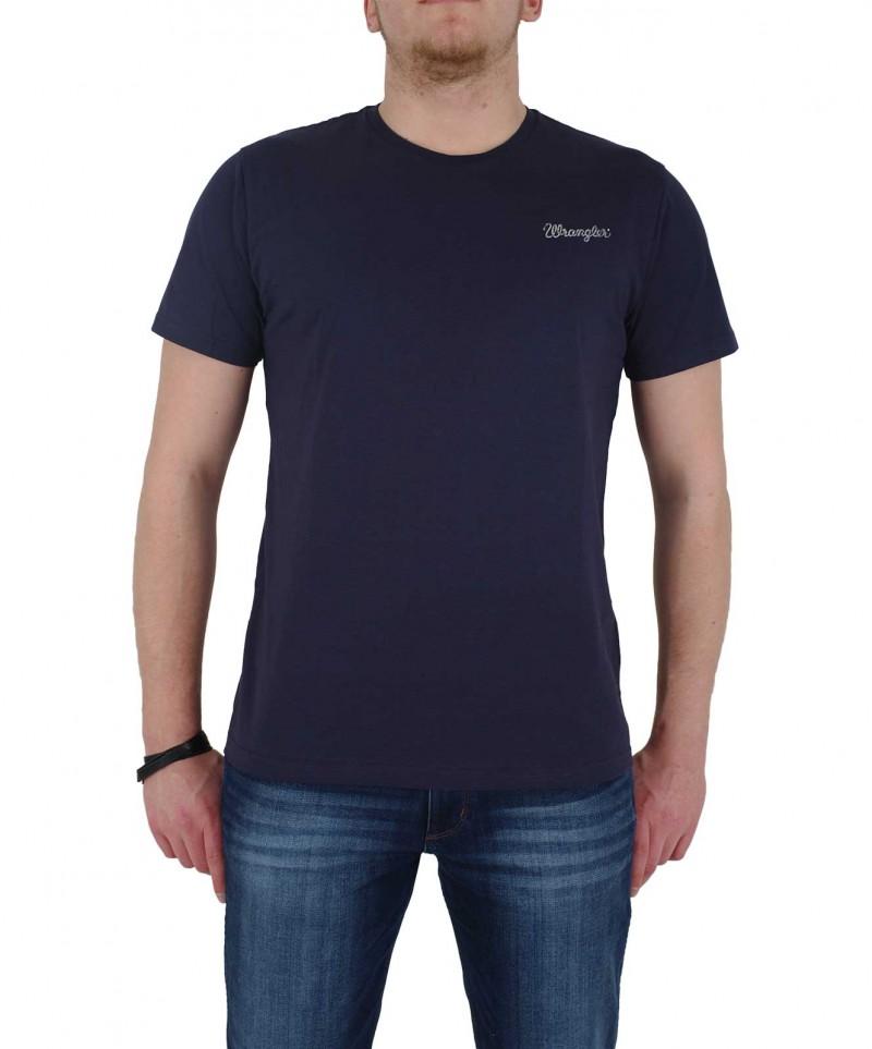 WRANGLER T-Shirt - 2 Pack Logo - Blau