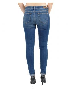 MAVI ADRIANA Jeans - Super Skinny - Deep Shaded - Hinten