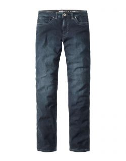 Paddocks Ranger Pipe - Karottenjeans in Blue Black Used