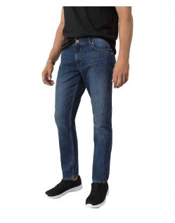 HIS WARREN - Loose Fit Jeans - Medium Blue