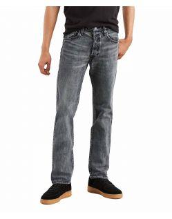 Levi's 501 - Straight Jeans in verwaschenem Schwarz