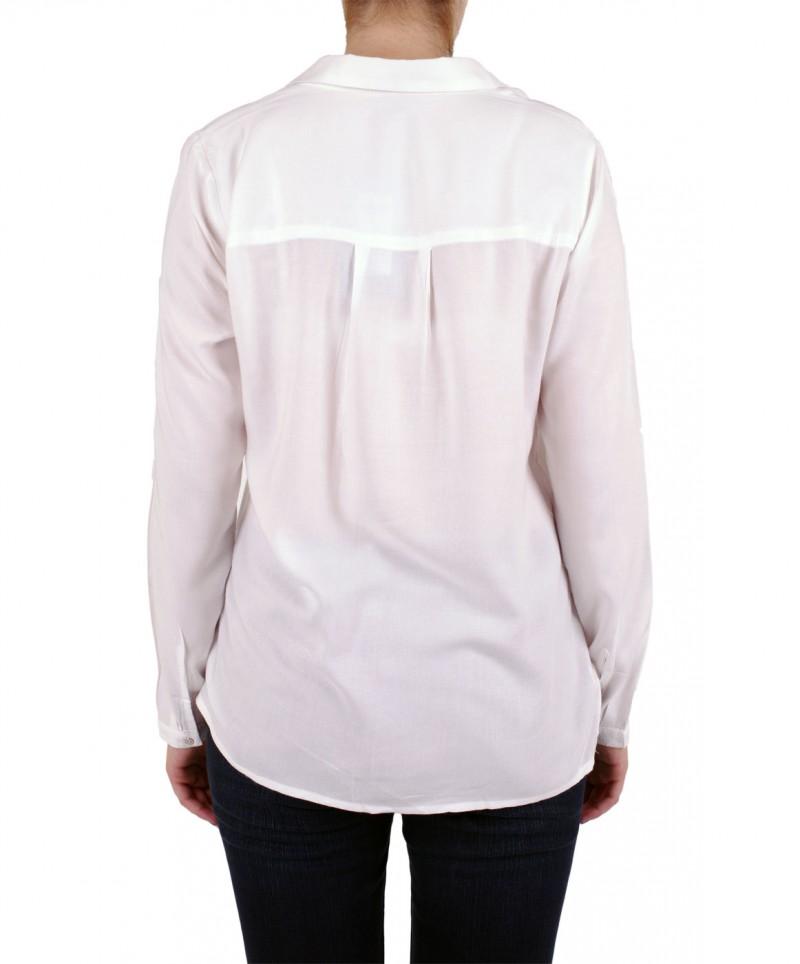 Vero Moda Bluse - Manda Shirt - Snow White