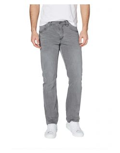 Corolado Denim - Classic Slim Fit Jeans in hellgrau