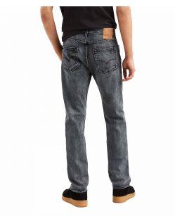 Levi's 501 - Straight Jeans in verwaschenem Schwarz - f02