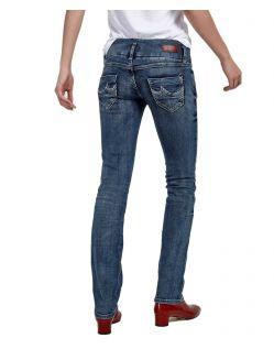 LTB Jonquil Jeans - Slim Straight Leg - Blue Lapis - Hinten