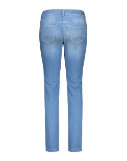 MAC ANGELA Jeans - Slim Fit - Light Blue Authentic Wash - Hinten