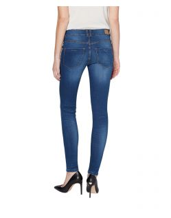 Colorado Denim Lana - Skinny Jeans in Indigoblau - Hinten