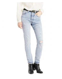 62500Levis 721 HIGH RISE SKINNY - Slim Fit - Black Sheep