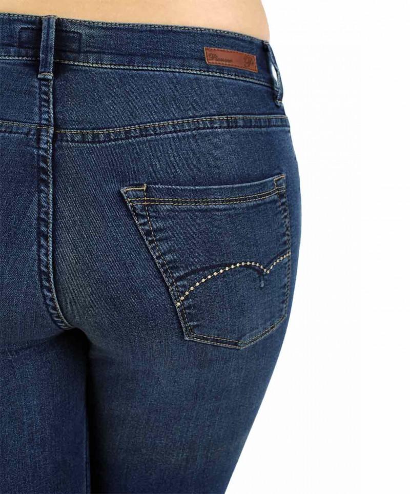 Pionner Kate Jeans - Regular Fit - Dark Blue Stone v