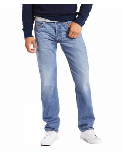 Levi's 501 Jeans aus superleichtem Denim in Rocky Road Cool