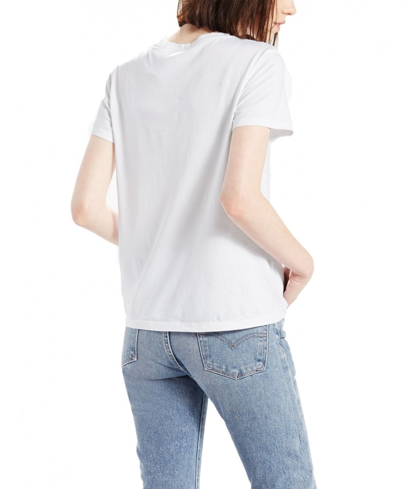 Levi's T-Shirt - Perfect Pocket Tee - White