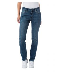 CROSS Anya - High Waisted Jeans - Medium Blue