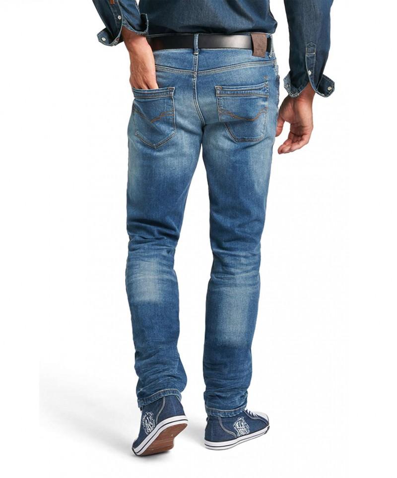 HIS CLIFF Jeans - SLIM FIT - Eclipse Blue