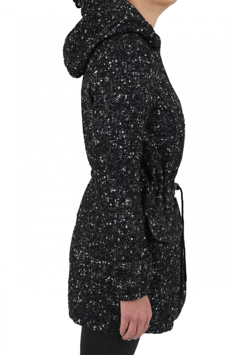 Vero Moda Tasty Winterjacke - Black/ Snow White v