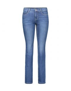 MAC DREAM Jeans - Straight Leg - Mid Blue Authentic Wash