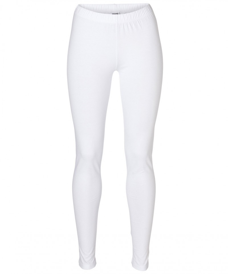 Vero Moda - Leggings Long - weiß
