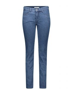 MAC Angela - Slim Fit Jeans - Mid Blue Basic